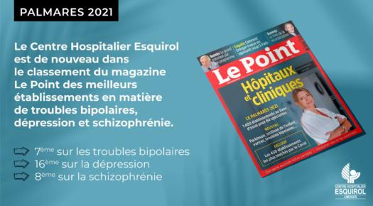 Le Point – 🏆 classement 2021 des meilleurs hôpitaux et cliniques de France
